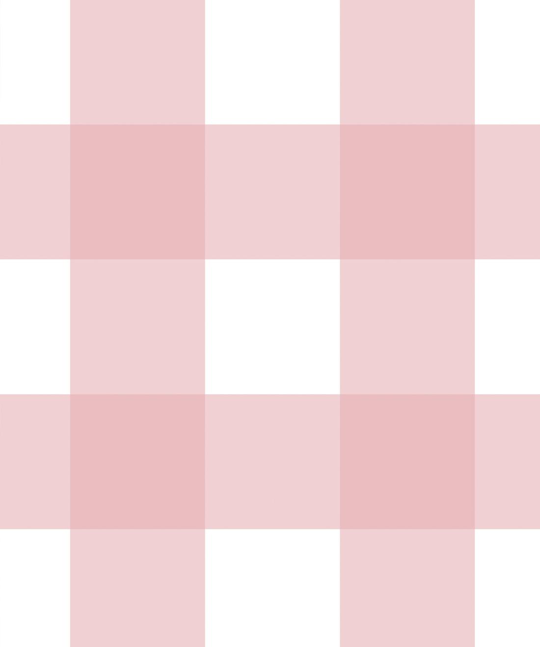 Wallpaper IngridMika buffalocheck Pink 1