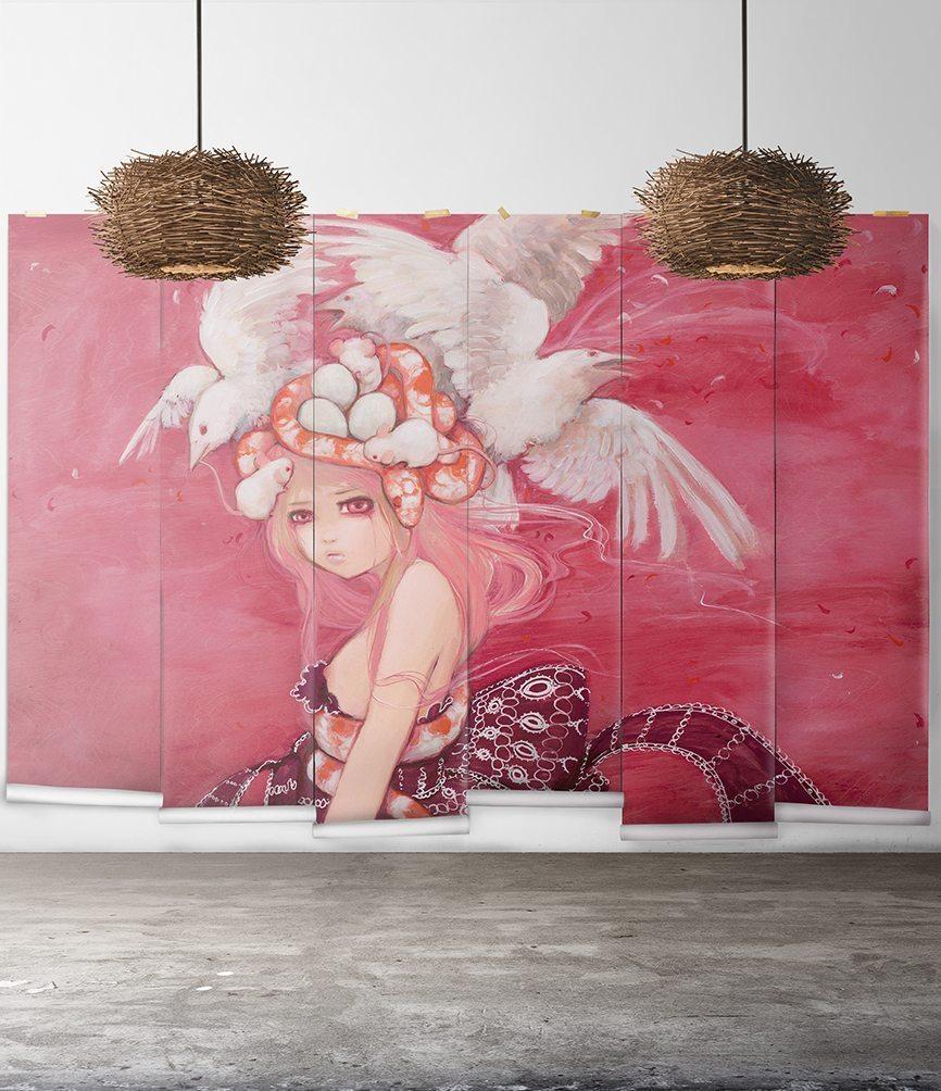 Camilla d'Errico's Manga Art
