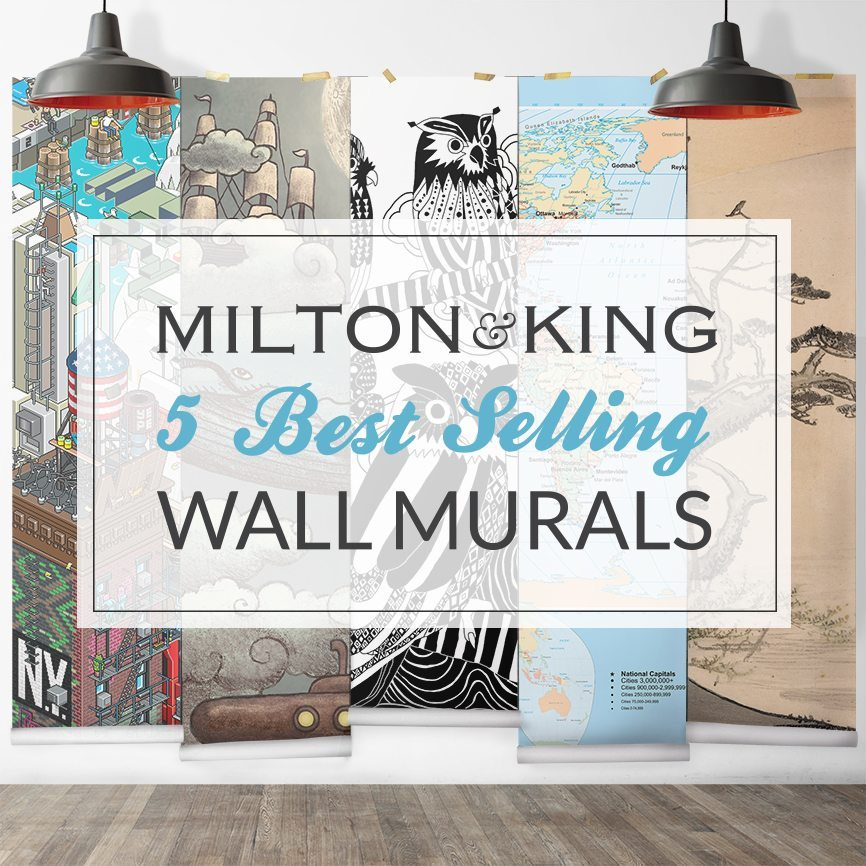5 Best Selling Wall Murals