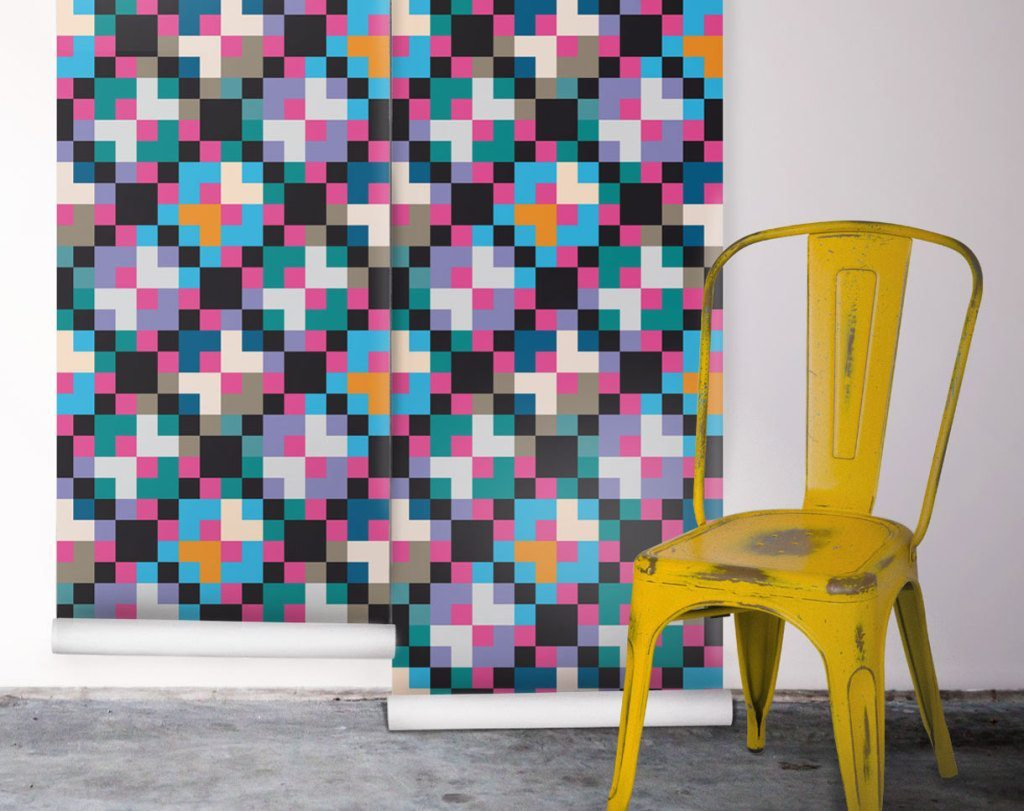 How To Style A Geometric Wallpaper | Milton & King
