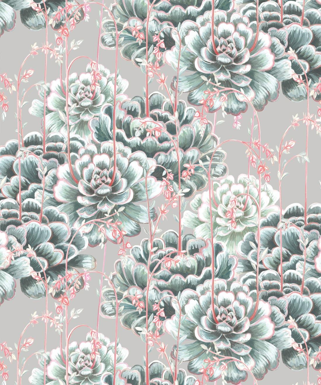 Succulents Wallpaper Stunning Cactus Design Milton King Uk